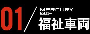 01 MERCURY 福祉車両